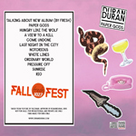 Duran Duran - Fall Fresh 102.7 Fest (back cover)