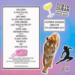 Duran Duran - Paper Gods In Gibraltar (back cover)