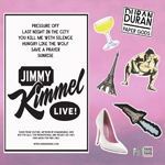 Duran Duran - Jimmy Kimmel Live! (back cover)