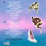 Duran Duran - Danceophobia In Liverpool (back cover)