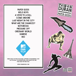 Duran Duran - MTV World Stage (back cover)
