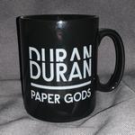 Duran Duran - Paper Gods Black Mug (cover)