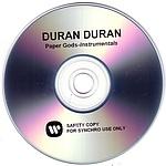 Duran Duran - Paper Gods-Instrumentals (back cover)