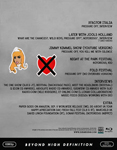 Duran Duran - Paper Gods Promo Tour (Part 3) (back cover)