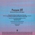 Duran Duran - Pressure Off (back cover)