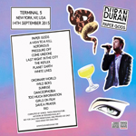 Duran Duran - Paper Gods In New York (back cover)