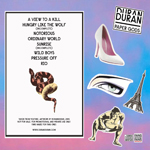 Duran Duran - Paper Gods In London (back cover)
