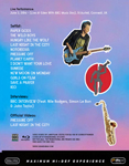 Duran Duran - Paper Gods Live At Eden Project (back cover)