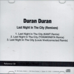 Duran Duran - Last Night In The City (cover)