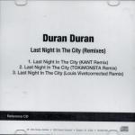 Duran Duran - Last Night In The City