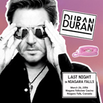 Duran Duran - Last Night In Niagara Falls 2 (cover)