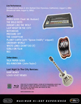 Duran Duran - Outside Lands Music Festival (back cover)