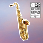 Duran Duran - Outside Lands Music Festival LP (cover)