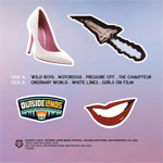 Duran Duran - Outside Lands Music Festival LP (back cover)