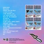 Duran Duran - Italian Paper Gods Tour - Taormina (back cover)