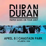 Duran Duran - Paper Gods On Tour - Atlanta (cover)