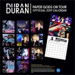 Duran Duran - Calendar 2017 (back cover)