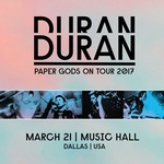 Duran Duran - Paper Gods On Tour - Dallas (cover)
