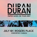 Duran Duran - Paper Gods On Tour - Edmonton (cover)