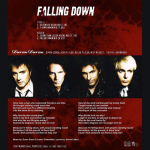 "Duran Duran - Falling Down 12"" (back cover)"