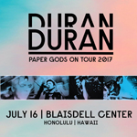 Duran Duran - Paper Gods On Tour - Honolulu (cover)