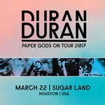Duran Duran - Paper Gods On Tour - Houston (cover)