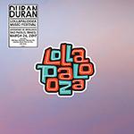 Duran Duran - Lollapalooza Brasil LP (cover)