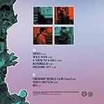 Duran Duran - Lollapalooza Brasil LP (back cover)