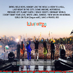 Duran Duran - Lollapalooza Chile (back cover)