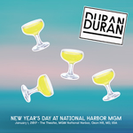 Duran Duran - New Year´s Day At National Harbor MGM (cover)