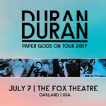 Duran Duran - Paper Gods On Tour - Oakland (cover)