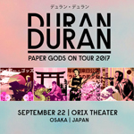 Duran Duran - Paper Gods On Tour - Osaka (cover)
