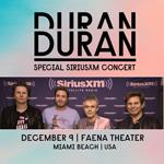 Duran Duran - Special SiriusXM Concert (cover)