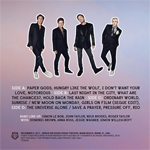 Duran Duran - Paper Gods On The Radio 2LP (back cover)