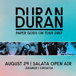 Duran Duran - Paper Gods On Tour - Zagreb (cover)