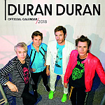 Duran Duran - Calendar 2018 (cover)