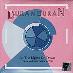Duran Duran - As The Lights Go Down 2LP (cover)