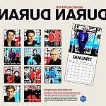 Duran Duran - Calendar 2019 (back cover)