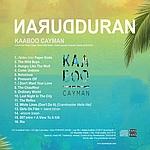 Duran Duran - Kaaboo Cayman (back cover)