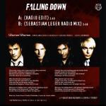 "Duran Duran - Falling Down 7"" (back cover)"