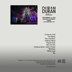 Duran Duran - Lake Tahoe Show (back cover)