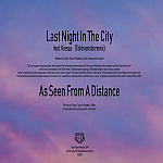 "Duran Duran - Last Night In The City 7"" (back cover)"