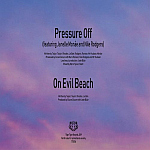 "Duran Duran - Pressure Off 7"" (back cover)"