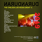Duran Duran - The Chelsea Las Vegas (Night 1) (back cover)