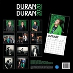 Duran Duran - Calendar 2020 (back cover)