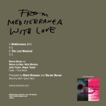"Duran Duran - From Mediterranea With Love 7"" (back cover)"