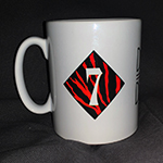 Duran Duran - SATRT White Tour Mug (back cover)