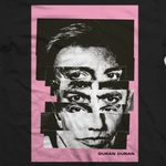 Duran Duran - Black Split Face T-Shirt (cover)