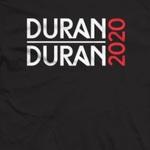Duran Duran - Thunder 2020 T-shirt (back cover)