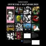 Duran Duran - Calendar 2021 (back cover)